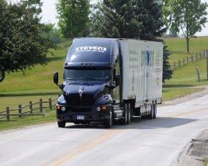 stevens truck on road