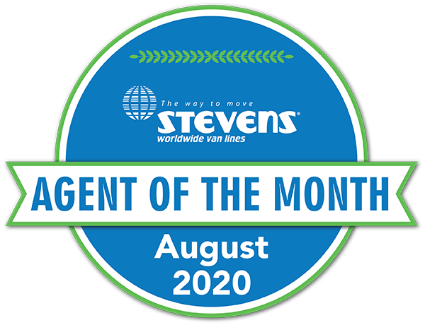 Stevens Agent of the Month - August 2020